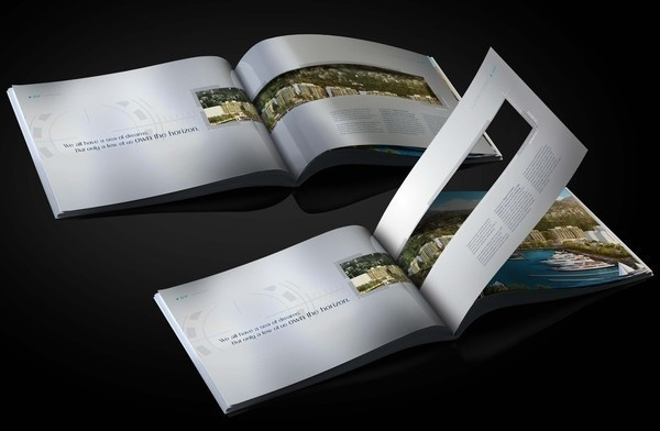 Blue Creative Brochure design #designs #broshures #printable