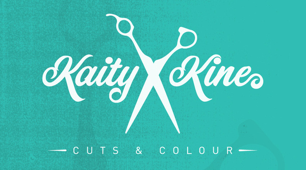 Logo design done for a local hair stylist. #shop #barber #stylist #scissors #hair #barbershop #shears #logo #teal