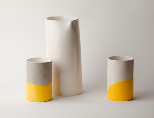 Up In The Air Somewhere #yellow #cup #ceramic