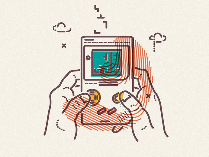 Play the game #illustration