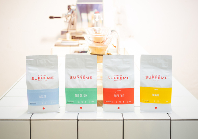Supreme Coffee designed by Marx Design