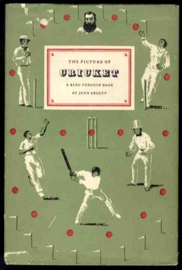 The picture of cricket. John Arlott #cover #graphic #book #cricket