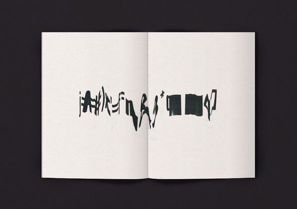 01 Emil Kozole #zine #design #graphic #slit #scan #typography