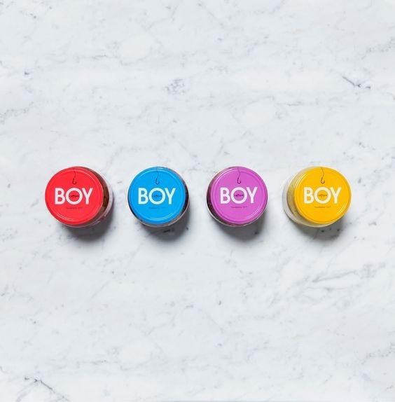 BOY- herring identity & packaging. Design Kuudes Kerros, Tony Eräpuro