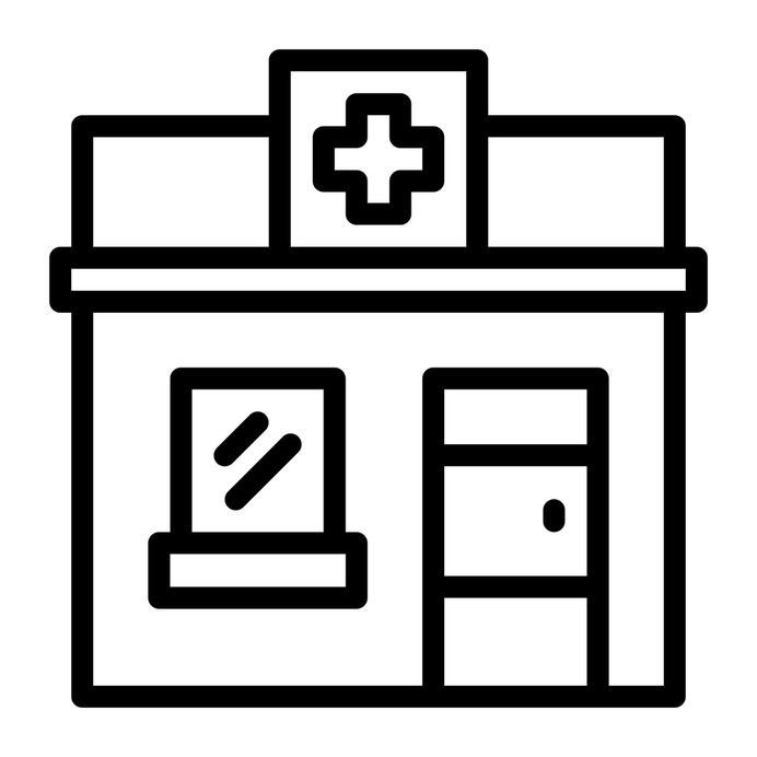 See more icon inspiration related to cross, dispensary, healthcare and medical, architecture and city, drugstore, medication, pharmacy, supplies, hospital, building, medicine and healthcare on Flaticon.