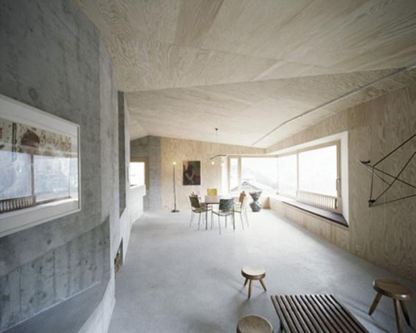 Interior Design Ideas: 12 Concrete Interiors Photo #interior #concrete #design #decor #decoration