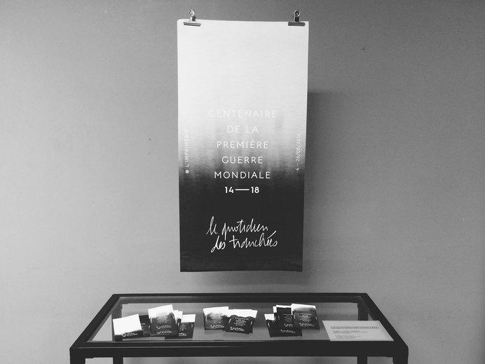 La guerre des tranchées by Alexia Roux #ink #alexia #guerre #des #black #tranchã©es #roux #la #drop #paper