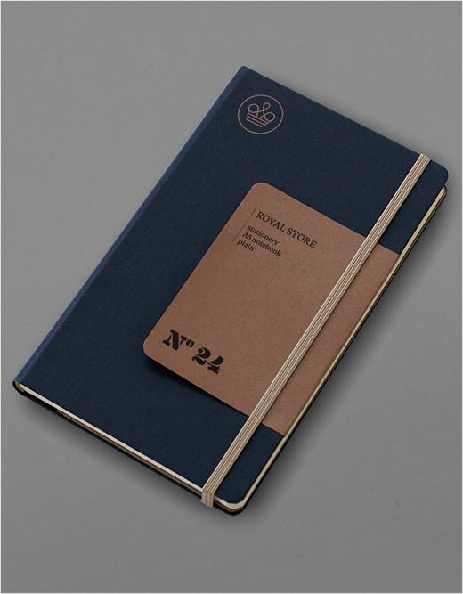 Royal Store Notebook by Jarek Kowalczyk #notebook #print #cardboard #royal