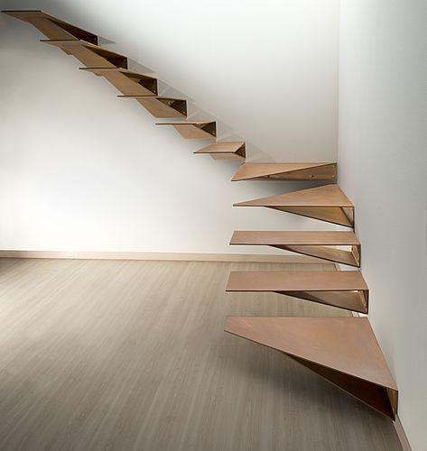 ORIGAMI COR-TEN – Marretti #stairs