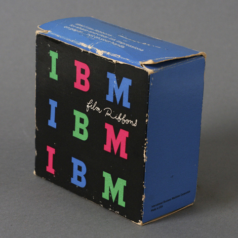 Vintage IBM packaging by Paul Rand #packaging #rand #vintage #ibm #paul