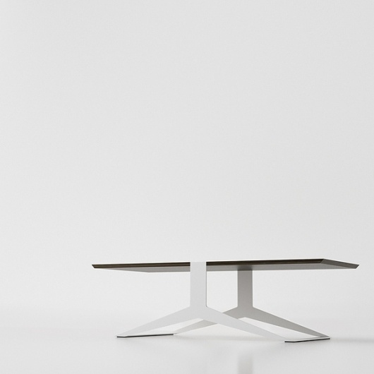 Wakeru on the Behance Network #simple #design #table