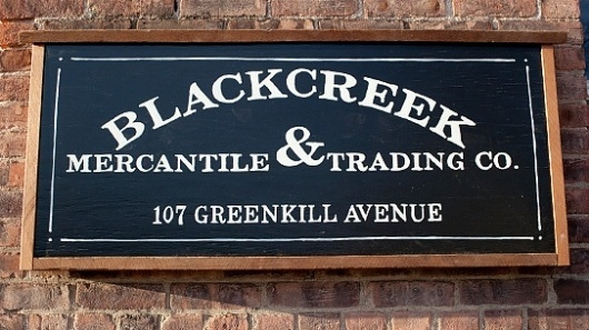 The Scout :: Blog :: Announcements :: Be Well #lettering #blackcreek #branding #sign #co #drawn #mercantiletrading #hand