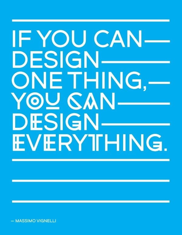 If You Can Design