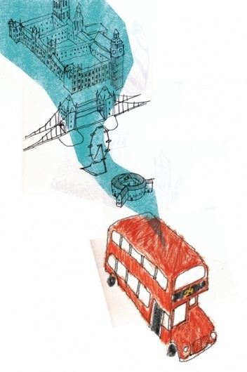 Competitions : Juliana Salcedo Portfolio #bus #juliana #london #salcedo #illustration #transport