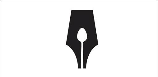 50 Fantastically Clever Logos | Design Shack #logo #illustration #black