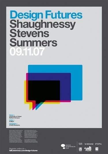 Design Futures Poster : Chris Killeen #poster