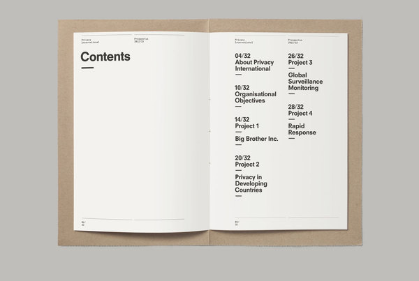 This is Real Art. — Privacy International Prospectus #print #editorial