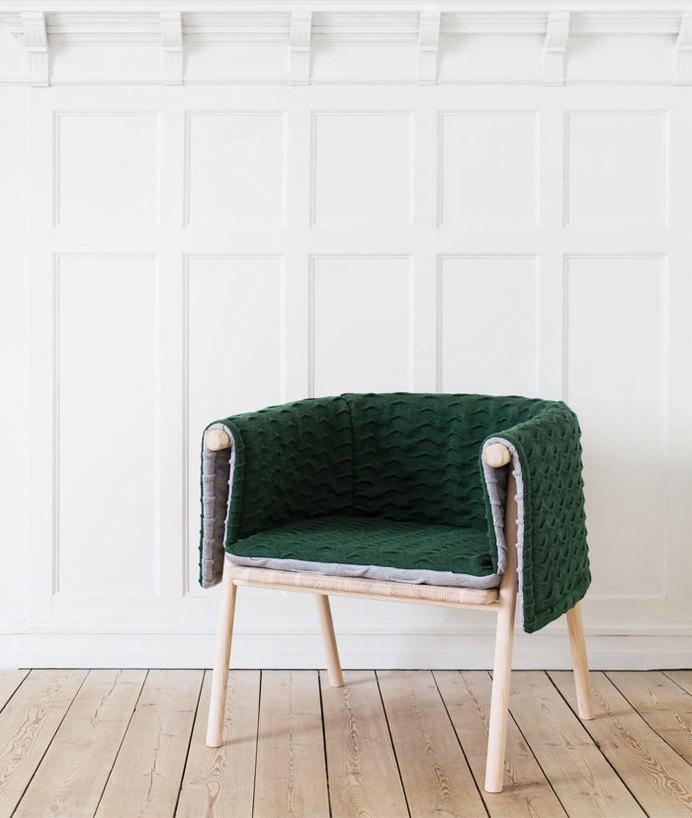 Strik armchair by Kristina Kjær #chair #design #product #furniture #armchair