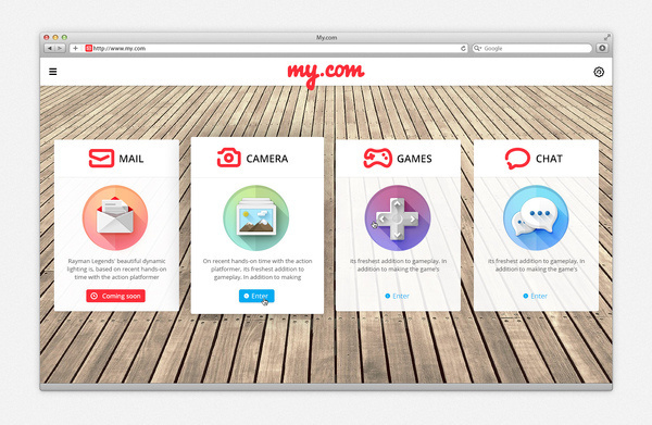 my.com icons #modern #design #graphic #icons #gaming #minimal