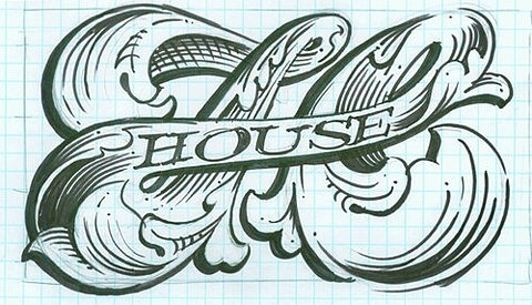 FFFFOUND! | A-HOLE #monogram #type #logo