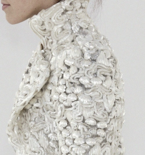Pinned Image #chanel #silver #white #pailletes
