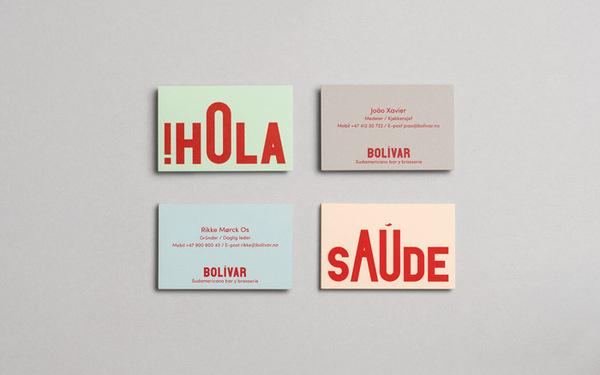 Heydays: Bolivar / on Design Work Life #type #identity #branding