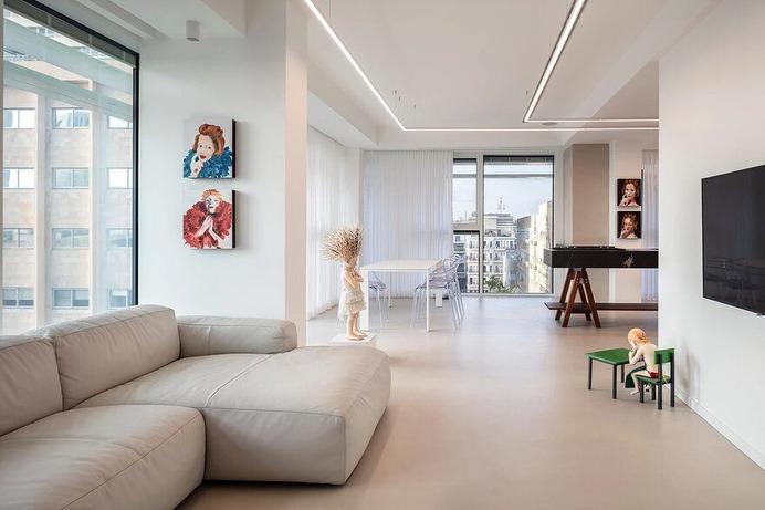 Stylish Apartment in Tel Aviv / Raz Melamed Architect