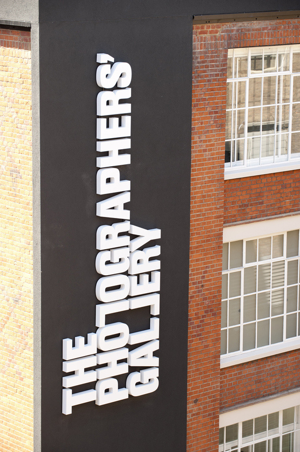 North_Photographers_Gallery_02 #signage #typography