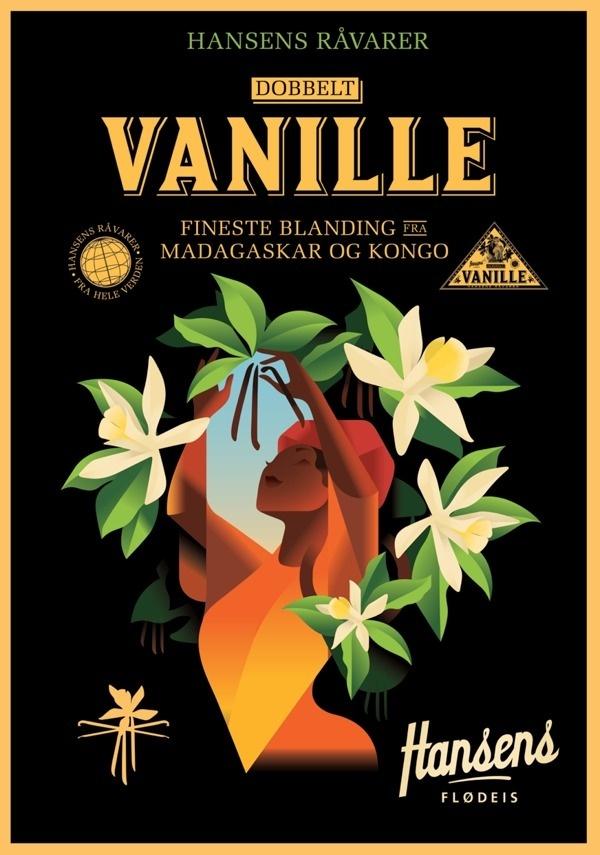 Hansens Posters 2013 #hansens #berg #mads #illustration #vanilla