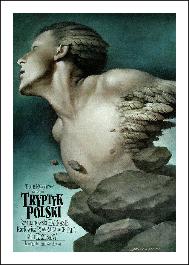 Wieslaw Walkuski #poster #design #polish #poland #illustration #art