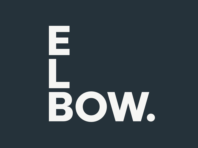 Elbow Brand Identity by Christopher Doyle & Co.