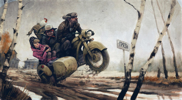 Illustrations by Waldemar Kazak #arts #illustrations #inspirations