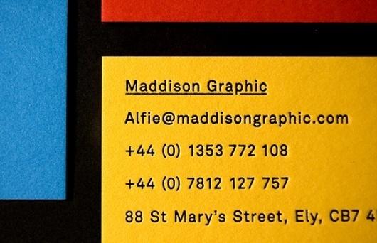 Maddison Graphic Stationery #graphics #maddison