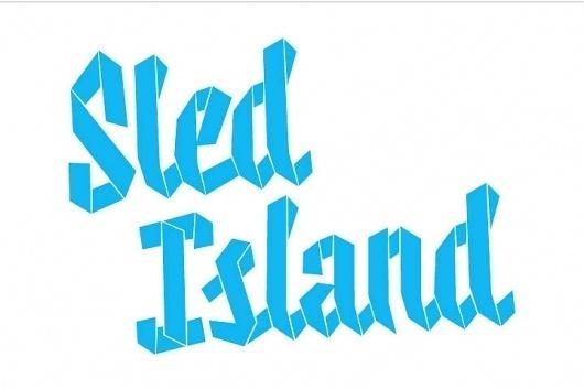 Sled Island 2011 - Working Format #logo