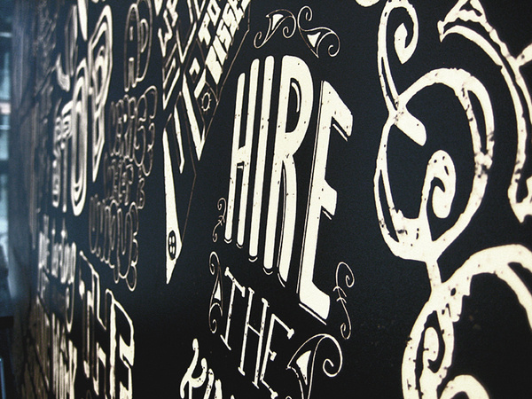 Ogilvy on the Behance Network #madmen #handwritten #ogilvy #typography