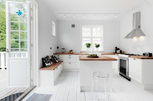 The Design Chaser: Wooden Flooring | Three Ways #interior #design #decor #kitchen #deco #decoration
