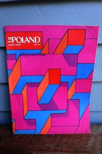 Vintage Art Magazine Cover 1972 June by lunaparkfoundry on Etsy #design #graphic #mid #1970s #century