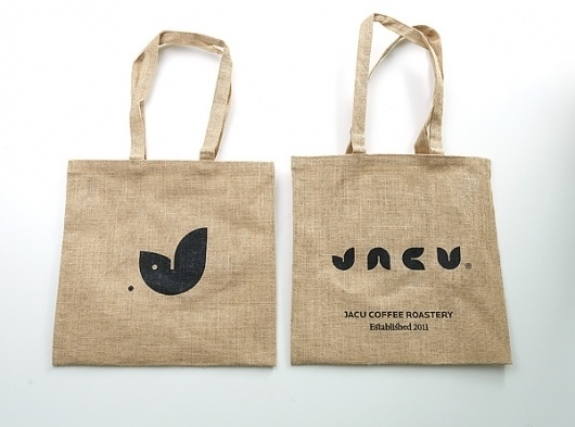 Jacu Coffee Roastery - Visual identity/Branding on the Behance Network #bag