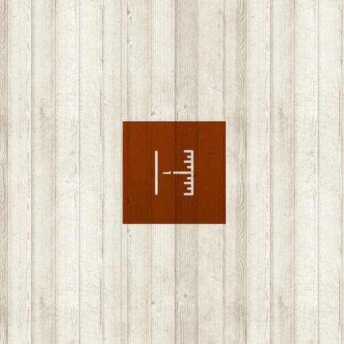 DESIGN — Portfolio of Ken Zakovich /// Duluth, Minnesota #construction #monoline #remodeling #wood #grain #symbol #logo #typography