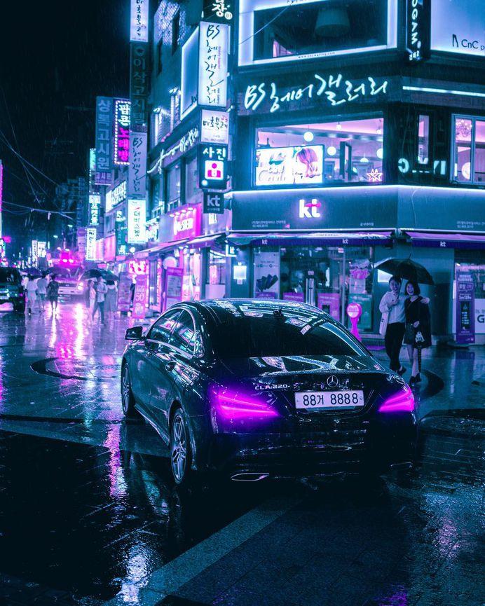 Cyberpunk, Neon and Futuristic Street Photos of Seoul by Steve Roe