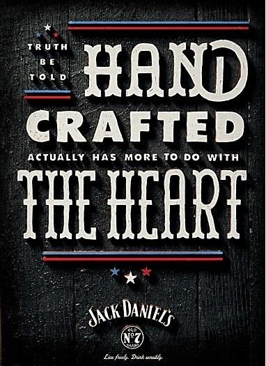 Jack Daniel's #lettering #design #handmade #poster #typography