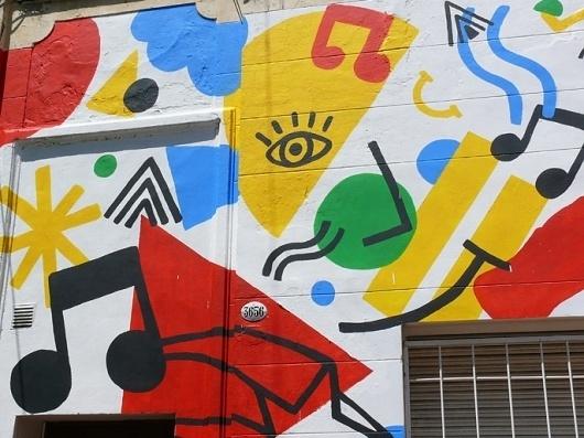 BOSQUE Estudio/Taller Coca-Cola - #coca #paint #bosque #art #street #murals #cola
