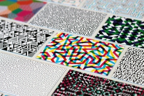 Business Cards by William Branton, via Behance