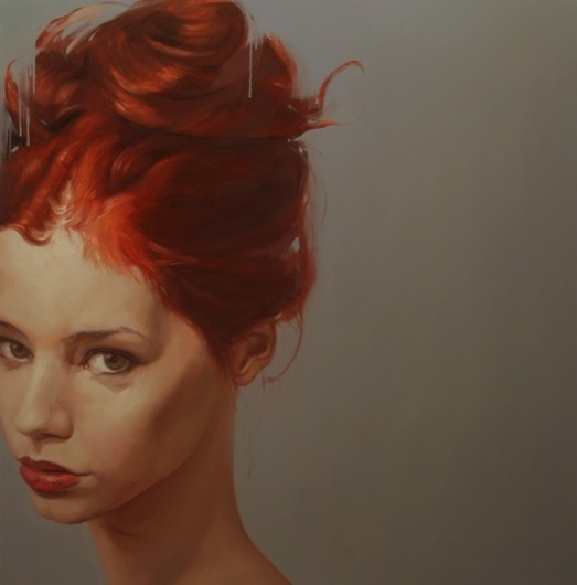 Yury Darashkevich » Design You Trust #form #woman #illustration #portrait #painting