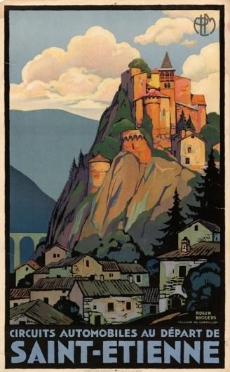 14.jpg 446×720 pixels #etienne #chateau #france #roger #travel #saint #poster #broders