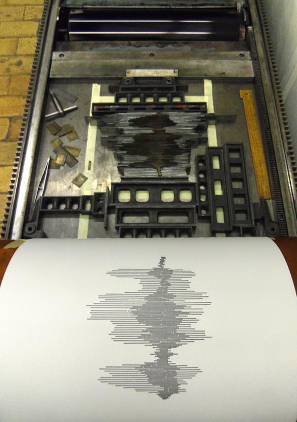 Sync Thrill #print #design #graphic #letterpress