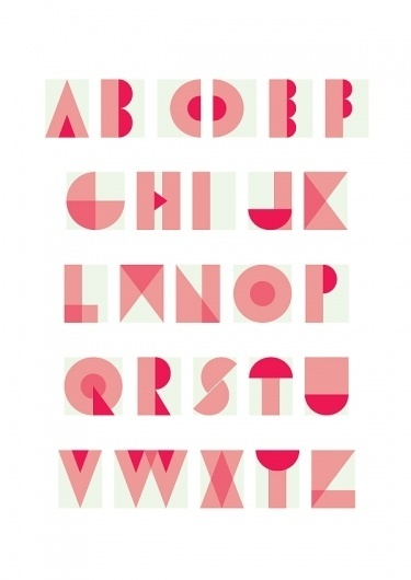 TYPE - Jessica Pinotti #fonts #typing #transparency #alphabet #type