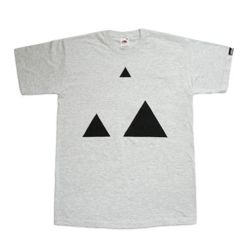 Cursa — Two Triangles #tshirt #cursa #triangle #minimal #tee #triangles #tees