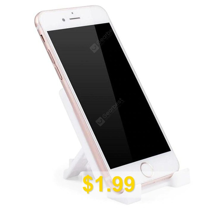 Tablet #Stand #Mount #Holder #Phone #Desktop #Bracket #- #WHITE