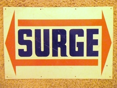 Draplin Design Co. #logo #retro #vintage #surge